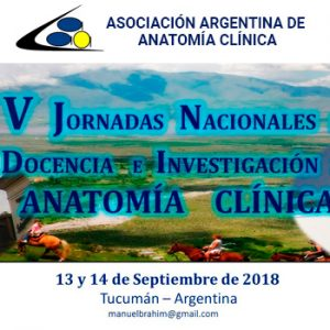 V National Conference of Teaching and Research in Clinical Anatomy