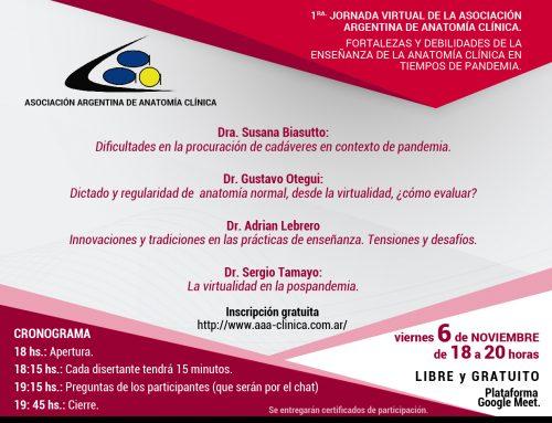 1º Jornada Virtual AAAC